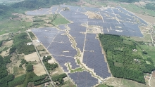 hoa hoi solar power plant inaugurated in phu yen