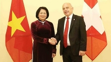 vietnam treasures ties with switzerland vice president