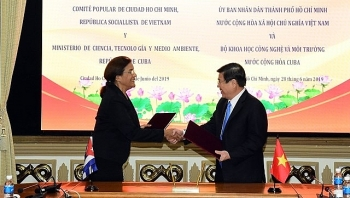 hcm city signs deal with cuba on science technology cooperation