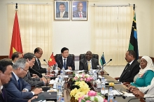 deputy pm vietnam wants expand cooperative ties with tanzania
