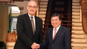 ho chi minh city boosts cooperation with switzerland