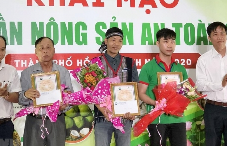 trade fair of typical agricultural products opens in ho chi minh city