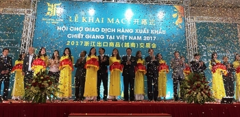 over 100 zhejiang firms display products at export fair in hanoi