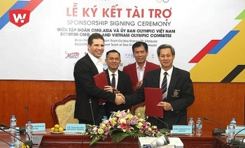 cmgasia sponsors vietnam sport delegation at 29th sea games