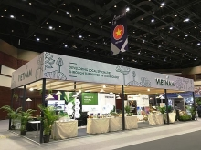 vietnamese products promoted at asean india exhibition