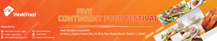 five continents food festival coming soon
