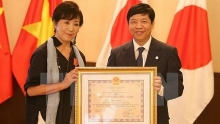 vietnams friendship order presented to japanese film director