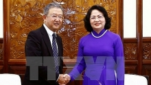 vice president meets aia chief executive