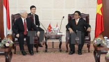 vietnam indonesia aim for deeper strategic partnership