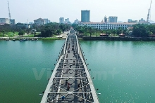 hue plans to open pedestrian square on truong tien bridge