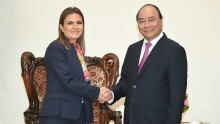 pm urges vietnam and egypt to increase two way trade