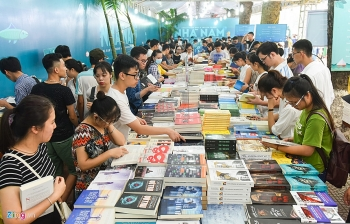 vietnam intl book fair opens in hanoi