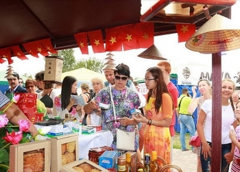 vietnamese products showcased in ukrainian trade fair