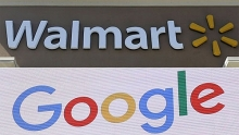 google and walmart team up to take on amazon