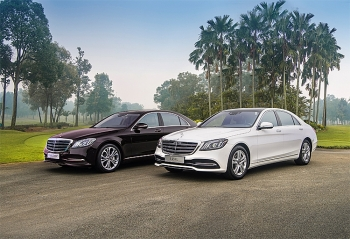 mercedes benz vietnam introduces the new s class extending the leading position of full sized sedans