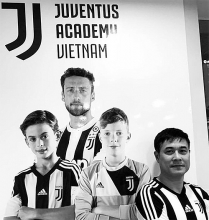 juventus opens training academy in vietnam