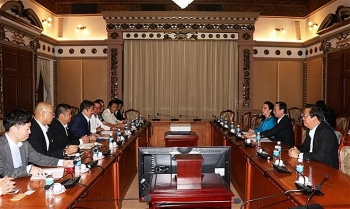hcm city leader pledges optimal conditions for japanese investors