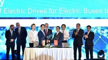 vinfast siemens sign deals for electric bus manufacturing