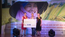 us 100000 presented to solvers of rice cultivation with less greenhouse gas emissions