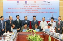 petrovietnam signs deals on sao vang dai nguyet gas field exploitation