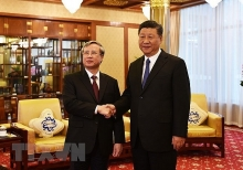 top chinese leader affirms desire to develop ties with vietnam