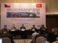 vietnam czech trade enjoys 14 percent growth in h1