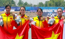 rowers quench vietnams gold medal thirst at asiad 2018