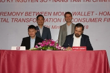 momo home credit partner to promote cashless consumer finance
