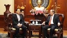 ho chi minh city backs strengthened cooperation with japanese locality