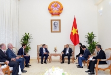 pm receives techtronic industries chairman