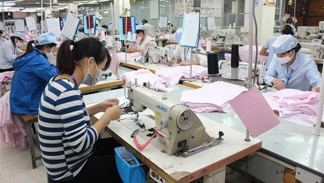 garment and textile exports increase 105 in seven months