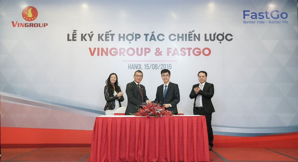 vingroup to deliver cars to ride hailing app fastgo
