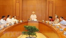 party leader chairs personnel sub committee meeting for next congress