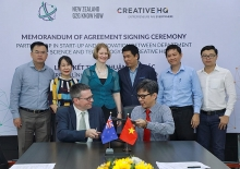 hcmc new zealand firm ink pact on startup innovation ambience