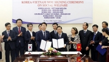 vietnam rok strengthen cooperation in social welfare