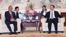 party secretary of the chinas guangxi province receives deputy pm