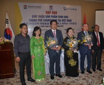 chuncheon city firms promote biotech products in vietnam