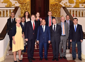 prime minister talks evfta signing with inta chair