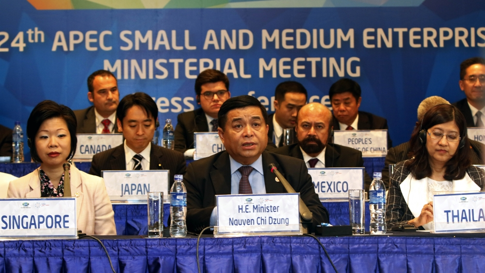 apec ministers vow to foster sme development