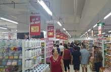 french group opens supermarket in hanoi
