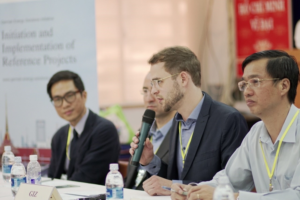 the first german solar training week in ho chi minh city