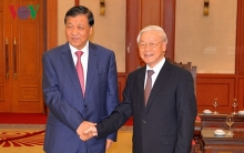 vietnam always treasures ties with china party chief