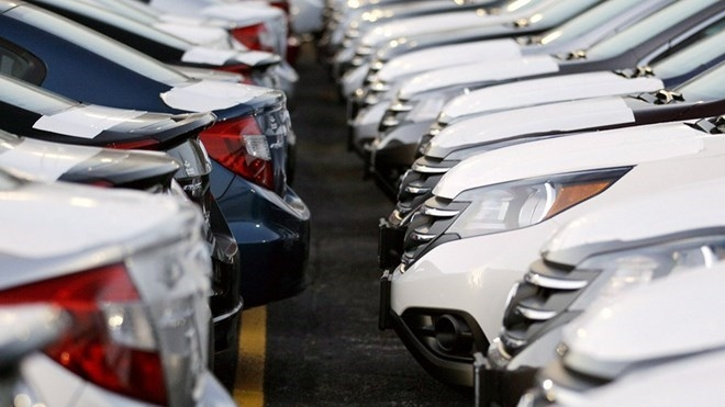 automobile sales dips six percent in eight months