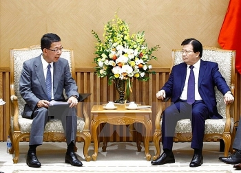 deputy pm hails mitsubishis participation in thermal power plant