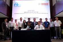 bosch and the standing office of national traffic safety committee to collaborate on traffic and vehicle safety research