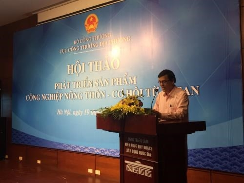 workshop talks asean generated chances for rural industry products