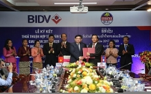 bidv lao foreign trade bank beef up cooperation