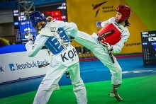vietnamese competes at world taekwondo grand prix
