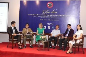 vietnamese media encouraged to become agents of change in efforts to deter wildlife crime
