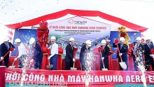 rok firm commences construction of first aero engines plant in vietnam